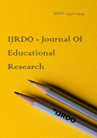 IJRDO Journal of Educational Reseaerch