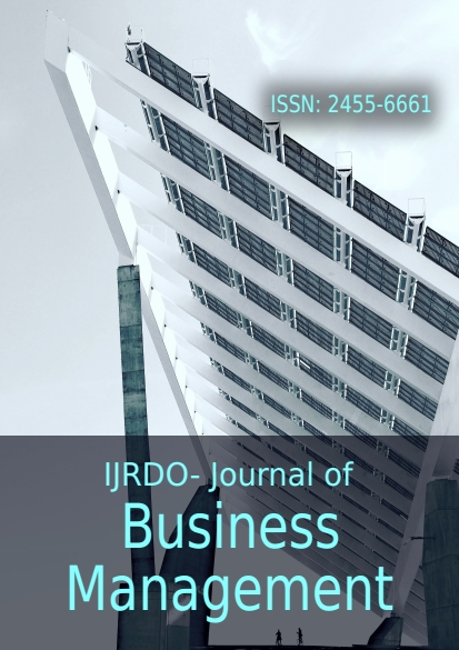 Journal of Advance Research in Business, Management and Accounting